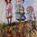 The Promenade , Claude Oscar Monet