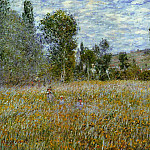 Meadow, Claude Oscar Monet