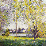 The Willows, Клод Оскар Моне