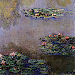 Water Lilies, 1908 08, Claude Oscar Monet