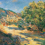 Claude Oscar Monet - The Road to Monte Carlo