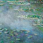 Water Lilies, 1906 02, Claude Oscar Monet