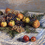 Claude Oscar Monet - Still Life with Pears and Grapes