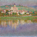 Vetheuil, Pink Effect, Клод Оскар Моне