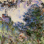 The House Seen from the Rose Garden, Claude Oscar Monet