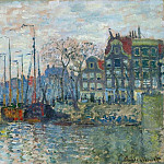 Claude Oscar Monet - Zaandam, The Dike
