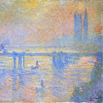 Charing Cross Bridge, Claude Oscar Monet