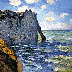 The Manneport, Claude Oscar Monet