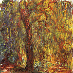 Weeping Willow, Claude Oscar Monet