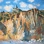 Claude Oscar Monet - The Church at Varengeville, Morning Effect