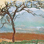 Claude Oscar Monet - Landscape at Giverny
