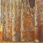 Rouen Cathedral at Noon, Claude Oscar Monet