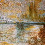 Charing Cross Bridge 3, Claude Oscar Monet
