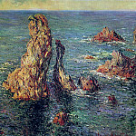 Claude Oscar Monet - The 'Pyramids' at Port-Coton, 1886 2