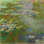 Claude Oscar Monet - Water Lilies, 1919 01