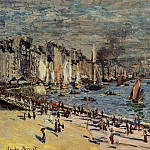 View of the Old Outer Harbor at Le Havre, Claude Oscar Monet