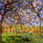 Giverny in Springtime, 1899-1900, Клод Оскар Моне