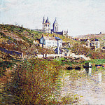 The Hills of Vetheuil, Claude Oscar Monet