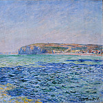 Shadows on the Sea at Pourville, Claude Oscar Monet
