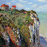 Cliff at Dieppe, Клод Оскар Моне