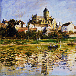 Vetheuil, The Church, Claude Oscar Monet
