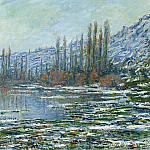 The Thaw at Vetheuil, Claude Oscar Monet
