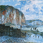 Claude Oscar Monet - Cliffs of Les Petites-Dalles