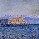 The Old Fort at Antibes, Claude Oscar Monet
