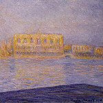 The Doges' Palace Seen from San Giorgio Maggiore 2, Claude Oscar Monet