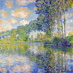 Claude Oscar Monet - Poplars on the Epte