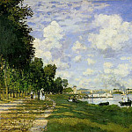 The Basin at Argenteuil, Claude Oscar Monet