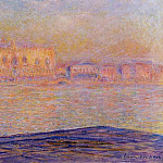 The Doges' Palace Seen from San Giorgio Maggiore, Claude Oscar Monet