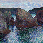 Belle-Ile, Rocks at Port-Goulphar, Claude Oscar Monet