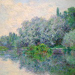 Клод Оскар Моне - The Seine near Giverny 02