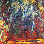 Claude Oscar Monet - Weeping Willow, Giverny
