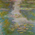 Water Lilies, 1908 02, Claude Oscar Monet