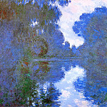 Morning on the Seine, Clear Weather 02, Claude Oscar Monet