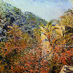 The Valley of Sasso, Sunshine, Claude Oscar Monet