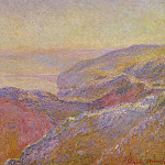 Клод Оскар Моне - Cliff near Dieppe 2