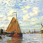 Zaan at Zaandam 02, Claude Oscar Monet
