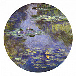 Water Lilies, 1908 06, Claude Oscar Monet