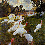 The Turkeys, Claude Oscar Monet