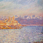 The Bay of Antibes, Claude Oscar Monet