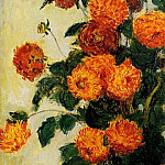 Claude Oscar Monet - Dahlias
