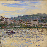 Клод Оскар Моне - The Seine at Vetheuil 3
