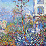 Villas at Bordighera 01, Claude Oscar Monet