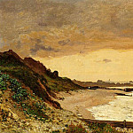 The Coast at Sainte-Adresse, Claude Oscar Monet