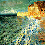 Morning at Etretat, Claude Oscar Monet