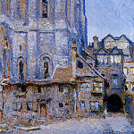 Claude Oscar Monet - The Cour d'Albane