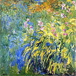 Claude Oscar Monet - Irises 3
